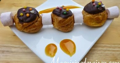 Brochette de choux fruits de la passion