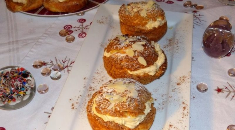 Paris-Brest en brochette