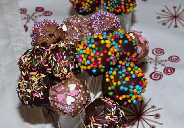 Recette pour faire des cake pops