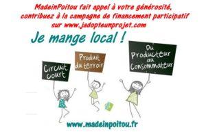 Contribution financement MadeinPoitou sur jadopteunprojet.com