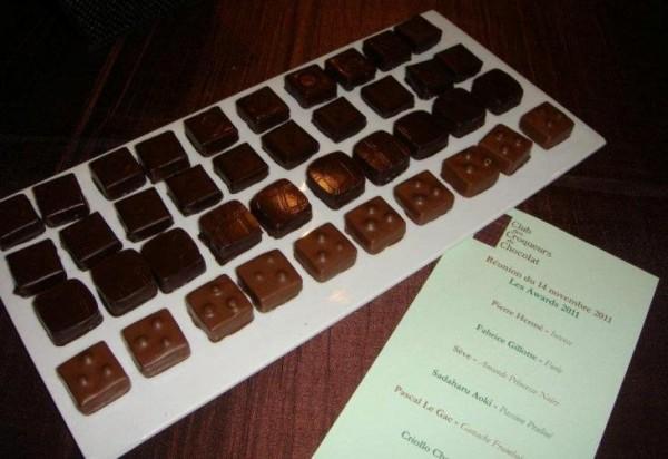 Dégustation au Club des Croqueurs de Chocolat