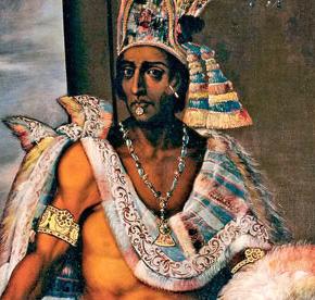 Moctezuma 9e empereur Aztèque