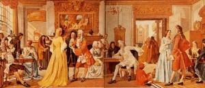 1657 ouverture de la première chocolate house» à Londres