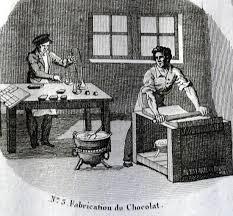 A Paris, les meilleurs chocolatiers de l'époque sont David Chaillon, les frères Rere et Renaud.