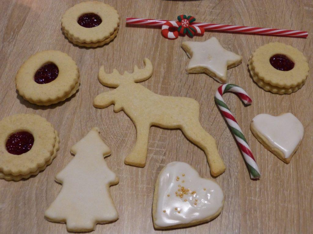 Biscuits sablés de Noël