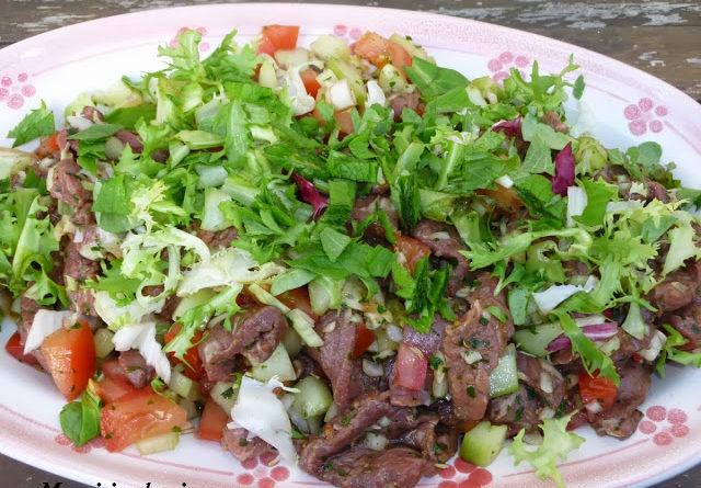 Salade de boeuf Thai