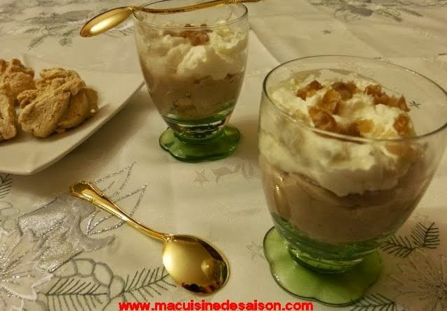 Verrine mousse de marron