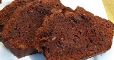 Cake au chocolat du chocolatier Jean-Paul Hévin