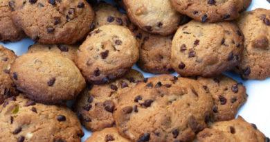 Cookies aux pépites de chocolat et éclats de pistaches