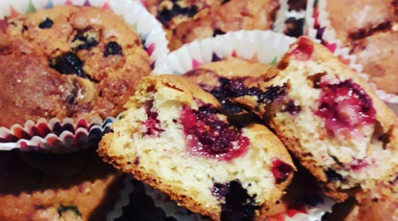 Cupcakes aux fruits rouges